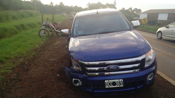 Era robada la camioneta que conducía un menor en el accidente en Jardín América