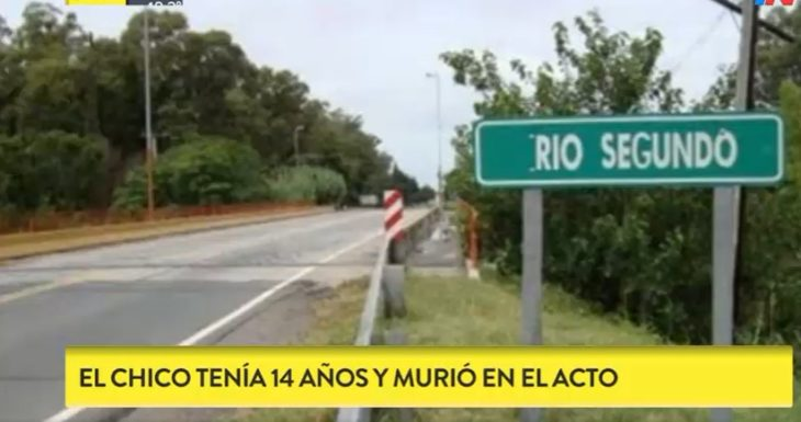 Chocaron dos cuatriciclos en Córdoba y murió un nene de 14 años