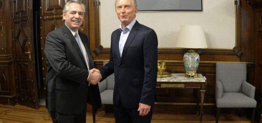 """Macri criticó a Alberto Fernández: """"Dice demasiadas cosas, no es bueno para un presidente"""""""