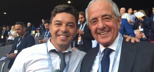 """D'Onofrio aseguró que """"Gallardo va a estar en River hasta 2021"""""""