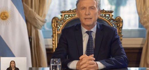 """Macri hizo su balance de gestión en cadena nacional: """"Los resultados no llegaron a tiempo"""""""