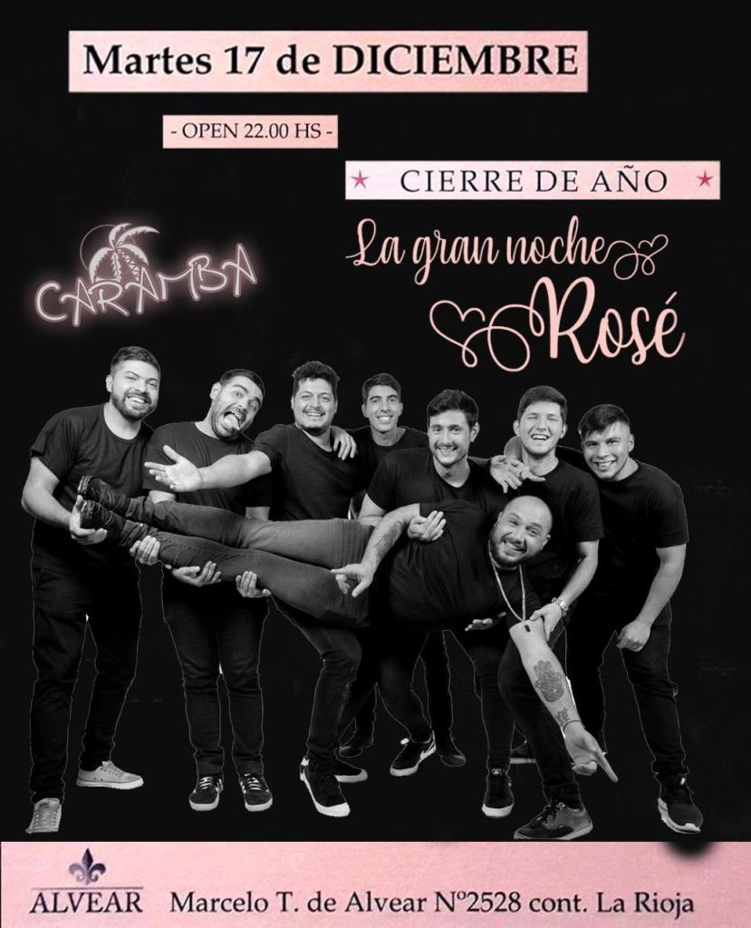 Mañana Salones Alvear cierra el año con la Gran Fiesta Rosé, la noche más glamorosa y esperada…Adquirí aquí las entradas por Internet