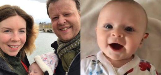 Video: la emocionante reacción de una bebé sorda tras escuchar por primera vez