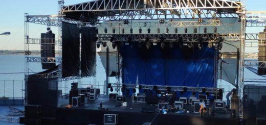Kyosko en el Anfiteatro: todo listo para la presentación de esta noche en Posadas…