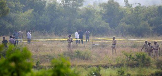 Cuatro acusados de violar y matar a una joven fueron fusilados en un descampado
