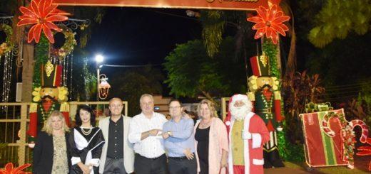 Passalacqua participó de la 9° Fiesta Nacional de la Navidad del litoral en Leandro N. Alem