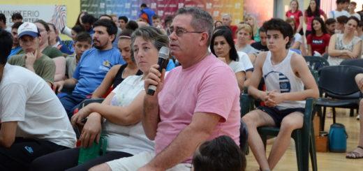 Destacada participación de deportistas en la capacitación brindada en Oberá