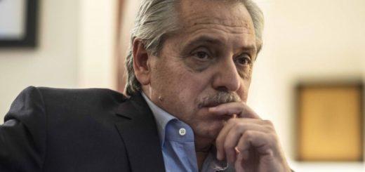 """""""El riesgo de default es muy alto"""", reveló Alberto Fernández"""
