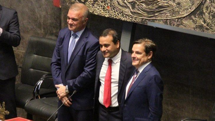 """Herrera Ahuad anticipó una gestión con ejes en inclusión social y la modernización del Estado y dejó una advertencia a su gabinete: """"El que no trabaja se va"""""""