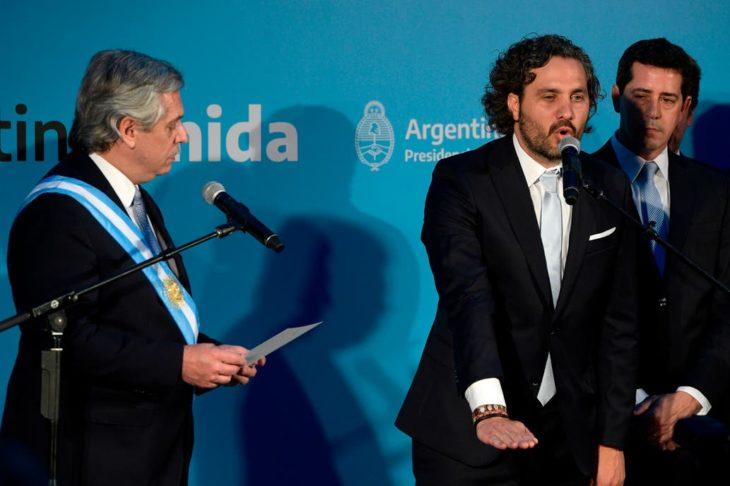 Alberto Fernández le tomó el juramento a sus ministros