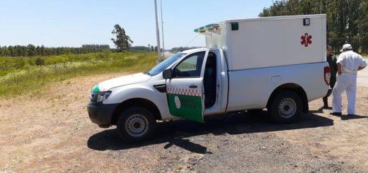 Un hombre se desvaneció en pleno viaje por la Ruta 14 y gendarmes le salvaron la vida con RCP