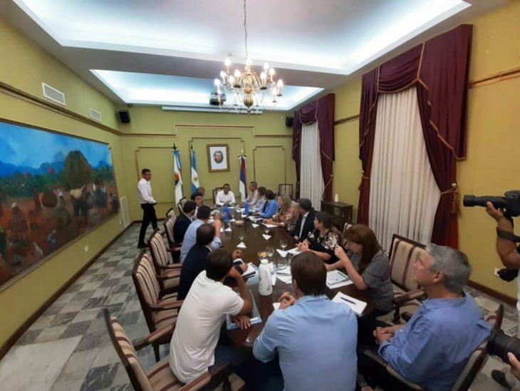 Herrera Ahuad reunió a su gabinete por primera vez y les reiteró el pedido de cercanía con la gente, austeridad y rápida respuesta