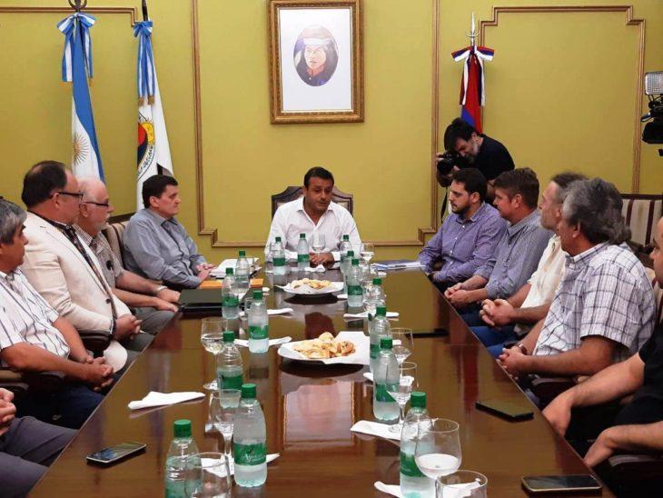 Herrera Ahuad, Quintana y Aicheler se reunieron con responsables de las cooperativas eléctricas para conocer su situación
