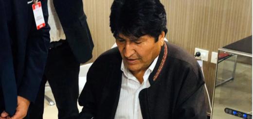 """Evo Morales en Argentina: """"Arribé para seguir luchando para unir a la Patria Grande"""""""