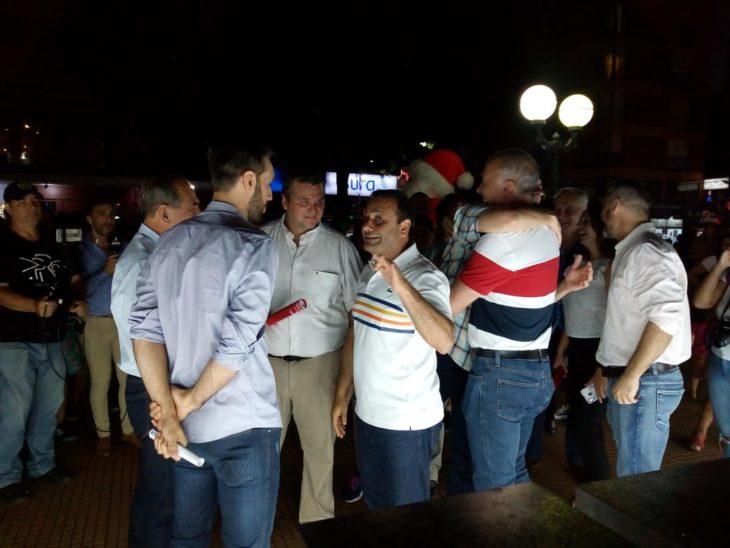 Con la presencia de Oscar Herrera Ahuad, Carlos Arce y Leonardo Stelatto, arrancó «Posadas Mágica»