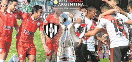 Esta noche juegan River y Central Córdoba la final de la Copa Argentina: hora, TV y todos los detalles