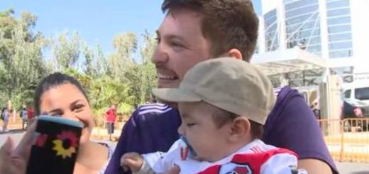 Fanatismo por River: se enteraron de que estaba embarazada el día de la final de Madrid y anotó a su hijo con un llamativo nombre