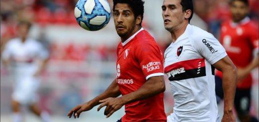 Como local, Independiente cayó ante Newell's en un partido pendiente de la Superliga