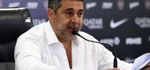 Oficialmente terminó el mandato de Angelici como presidente de Boca