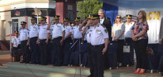 Oberá: con reconocimientos a policías destacados, cerraron los actos de ascenso en la Provincia