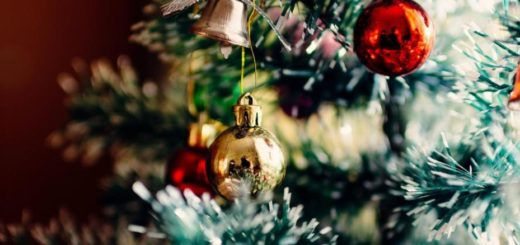 Una pareja despertó y encontró algo aterrador en su árbol de Navidad