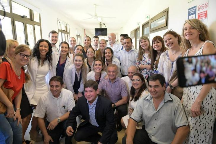 Herrera Ahuad celebró la primera promoción de médicos formados en Misiones