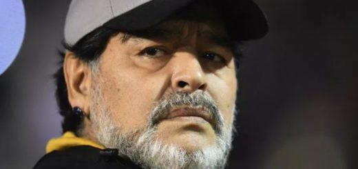 Se filtró un video de Diego Maradona gritándole a un grupo de niños que esperaban su autógrafo