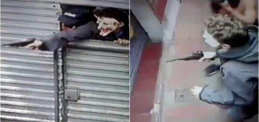 Enmascarados intentaron asaltar un kiosco de Posadas y el vendedor se defendió con un bate de béisbol