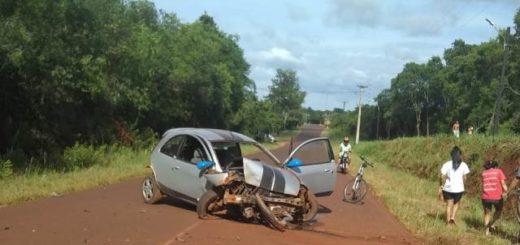 San José: se durmió al volante y despistó con su vehículo