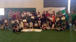 Se realizó un torneo inclusivo entre chicos con autismo e integrantes del club Guacurarí de Posadas
