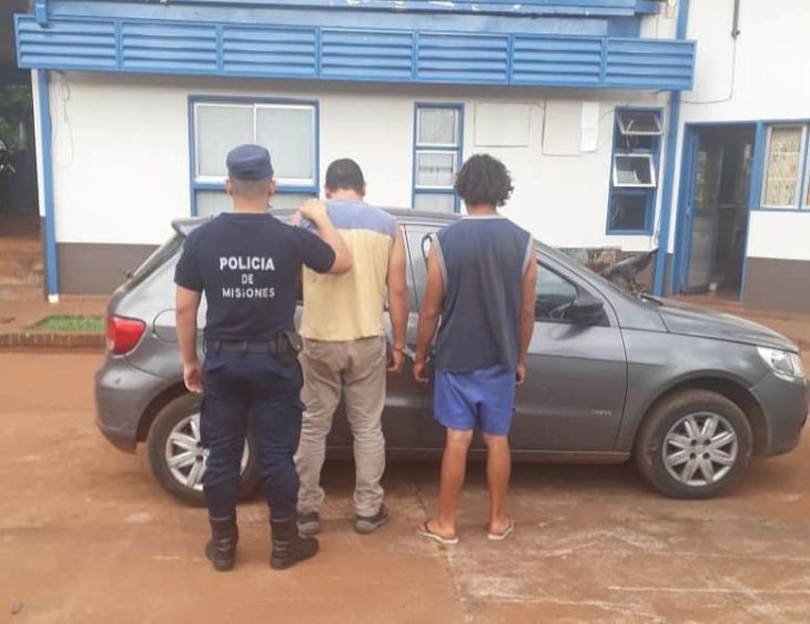 Posadas: un automovilista y su acompañante terminaron detenidos por intentar robarle a un hombre con una pistola de juguete