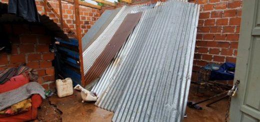 La tormenta afectó varios barrios de Posadas y dejó sin luz a Garupá y Candelaria
