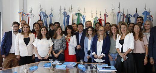 Benilda Dammer, la flamante ministra de Desarrollo Social de Misiones se reunió con sus pares de todo el país