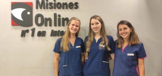Andrea, Florencia y Paola quedarán en la historia como las tres primeras médicas recibidas en Misiones