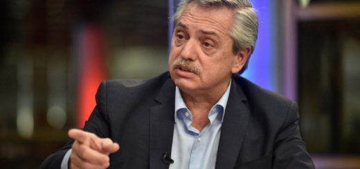 Alberto Fernández anunció un bono para los jubilados que cobran la mínima