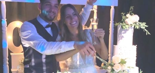 Se casó el futbolista misionero Martín Benítez estrella de Independiente con una mega fiesta en Misiones