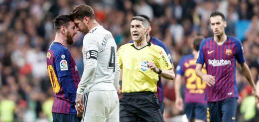 Barcelona y Real Madrid, mano a mano por la punta de La Liga