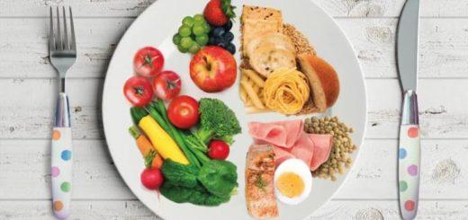 El primer paso para comer saludable es organizar tu plato