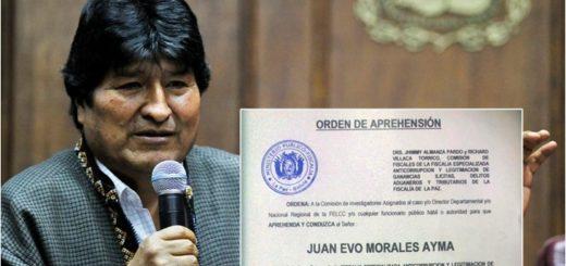 "La Justicia boliviana ordenó la captura de Evo Morales por ""terrorismo"""