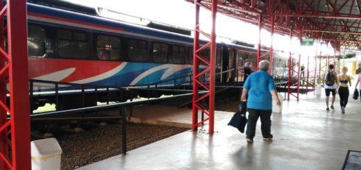 La estación paraguaya del tren Posadas-Encarnación dejó de aceptar pesos