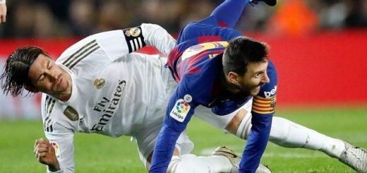 Barcelona y Real Madrid empataron sin goles y comparten la cima en la tabla de la Liga Española
