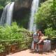 Las Cataratas del Iguazú volvieron a ser escenario de una romántica propuesta de matrimonio