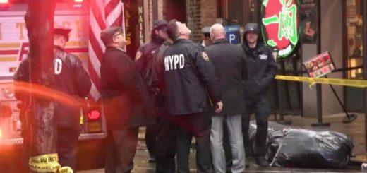 Una mujer murió aplastada al desplomarse un edificio en Nueva York
