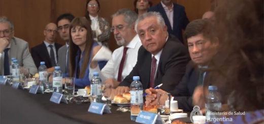 Oscar Alarcón se reunió con el Ministro de Salud de la Nación en el marco del COFESA