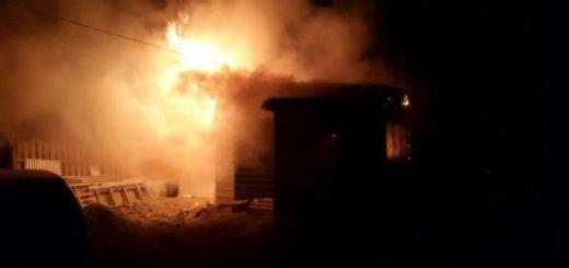 En Oberá, un joven prendió fuego su casa con él y su mamá dentro: están internados con su vida en riesgo