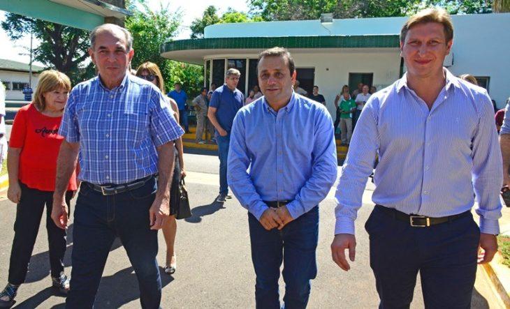 Stelatto acompañó la puesta en funciones del Presidente de Vialidad Provincial