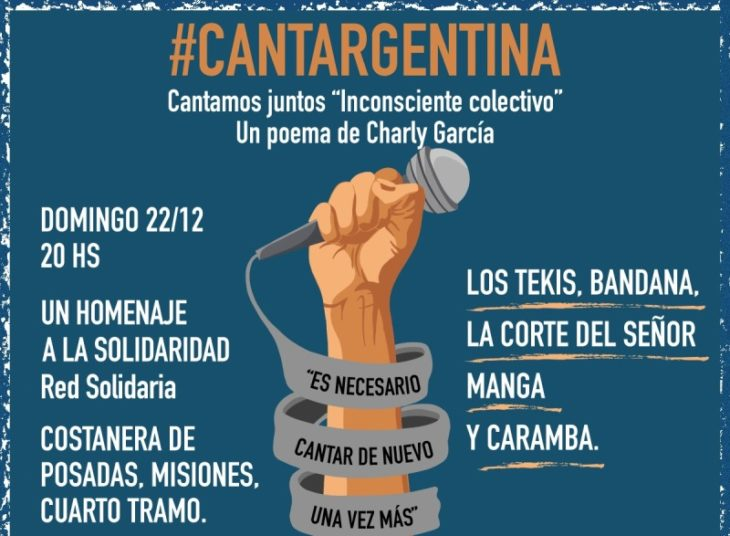 #CantArgentina: el Rotary recibirá donaciones de juguetes y útiles escolares durante el recital de esta tarde  en la Costanera de Posadas