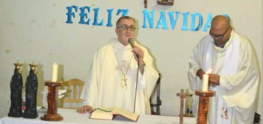 El Obispo de la Diócesis de Posadas celebró misa en el Penal de Loreto