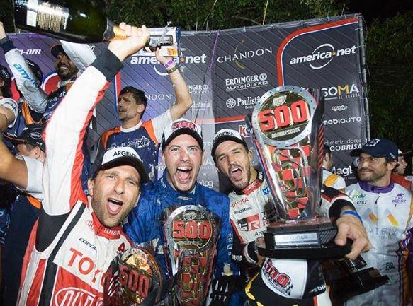 Con Rafael Morgenstern, el equipo argentino logró un histórico podio en las 500 milhas de karting en Brasil