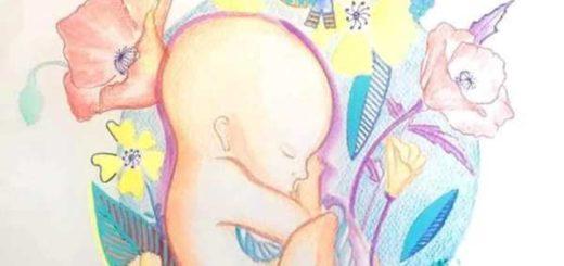 """Censura en una maternidad de Buenos Aires: taparon el mural de un niño en gestación, por ser """"violencia simbólica"""" hacia las pacientes"""